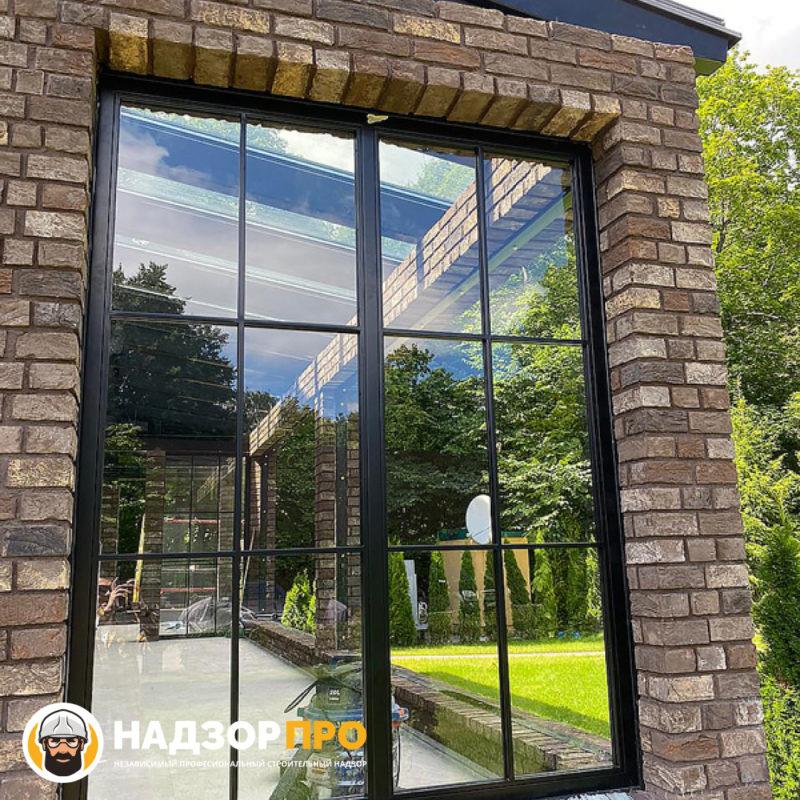 Частный дом в Москве - сопровождение строительства веранды