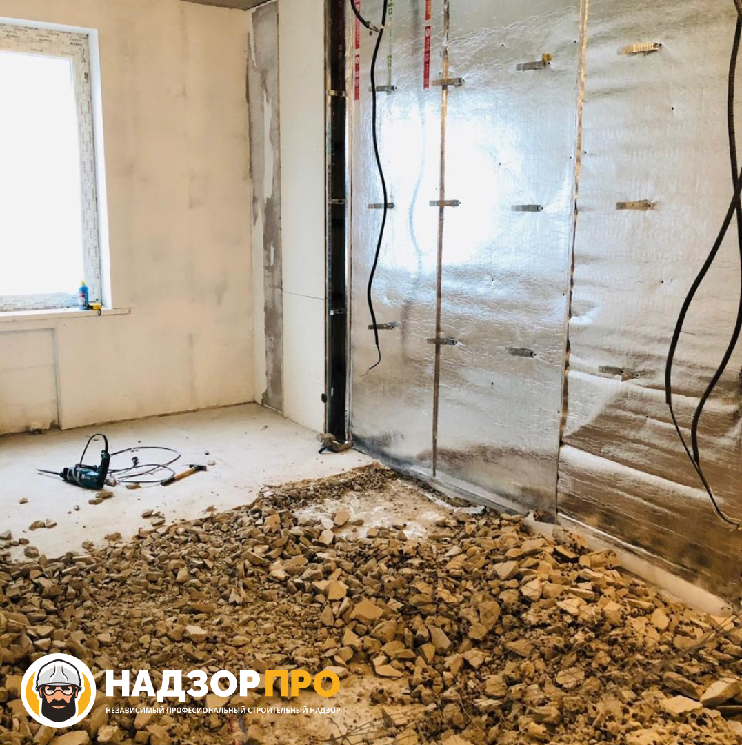 Приемка квартиры в процессе ремонта